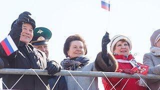 Наталья Комарова встретила Первомай в Сургуте