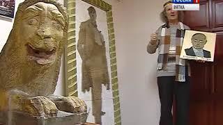 Работы из гвоздей вятского мастера Анатолия Серебренникова в Краеведческом музее(ГТРК Вятка)
