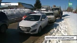 12 машин за один час столкнулись на ул.Беломорская: на протяжении 200 м произошло сразу 4 аварии