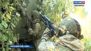 Разведчики развернули масштабные учения в Новосибирске