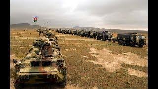 Бой на границе Азербайджана и Армении...