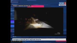 В Комсомольском районе молоковоз въехал в табун лошадей, неожиданно выбежавший на трассу