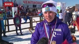 Мария Истомина - Чемпионат России по лыжным гонкам 2018 года