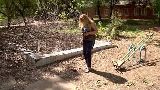 Журналисты проверили, насколько чисто в саратовских дворах