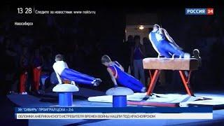 «Спортивная среда»: как в Новосибирске отметили Всероссийский день гимнастики