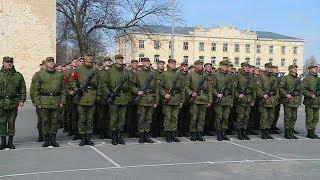 В Волгограде прошла первая репетиция парада к 9 Мая