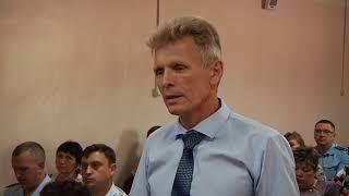 Врио губернатора Василий Орлов пообщался с главами районов и поселений в Тамбовский район.