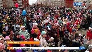 В Плющихинском микрорайоне прошел праздничный концерт к 9 мая