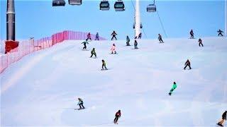 Югорские сноубордисты и горнолыжники устроили противостояние