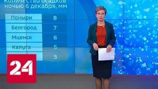 """""""Погода 24"""": снегопад в Москве - Россия 24"""