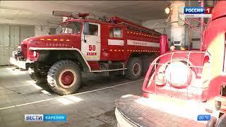 Пудожские пожарные получили новую машину