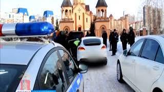 Участник свадебного кортежа устроил стрельбу в центре Красноярска