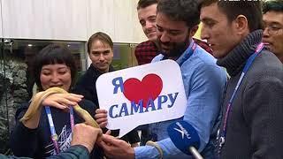 """Иностранная делегация молодежи приехала в Самару в рамках форума """"Россия - страна возможностей"""""""