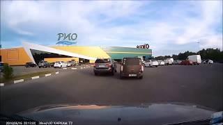 Подборка ДТП за июнь 2018 года! Часть 2! Traffic accidents! Accidents de circulation!