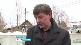 Власти Ижевска готовятся к паводку