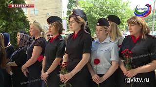 В Махачкале открыта памятная плита с именем Героя России Магомеда Нурбагандова