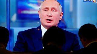 """""""Прямая линия"""" Путина: о Сирии, Украине и блогерах"""