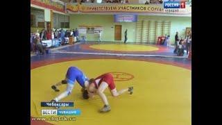 В столице Чувашии на соревнованиях по женской борьбе состязались 300 участниц