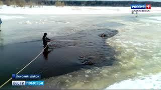 Накануне в Онежском районе во время рыбалки утонул мужчина