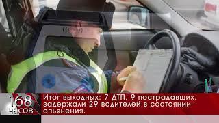 Итог выходных 7 ДТП, 9 пострадавших, задержали 29 водителей в состоянии опьянения