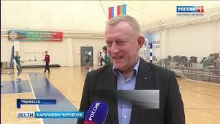 В Черкесске прошли соревнования Первенства России по гандболу среди юношей 2004 года рождения