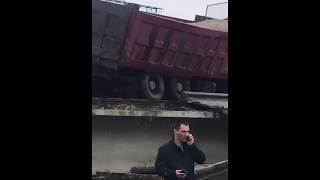 На Дальнем Востоке мост рухнул на поезд