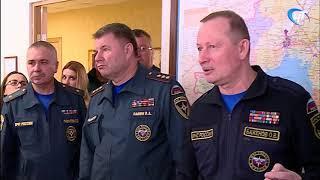 С рабочим визитом Новгородскую область сегодня посетил заместитель главы МЧС Олег Баженов