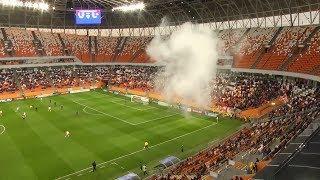 Футбольный матч в Саранске начался массовой дракой