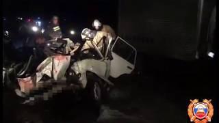 Трое погибли и двое пострадали  в страшной аварии на Ставрополье