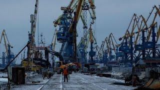 Возобновление грузоперевозок в Азовском море