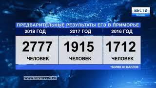 В Приморье подвели предварительные итоги ЕГЭ