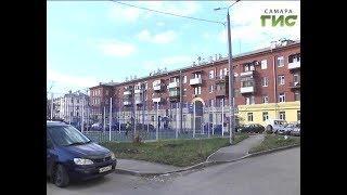 В Самаре на проспекте Металлургов завершился первый этап реставрации жилого дома