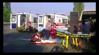 Петропавлівський район: рятувальники надали допомогу у ліквідації наслідків ДТП