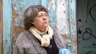 В доме на улице Пушкина рухнул потолок