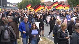 Протесты в Хемнице собрали 8 тысяч человек