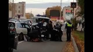 Полицейская погоня и задержание  в Биробиджане (РИА Биробиджан)