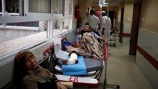 Жители Газы хоронят погибших