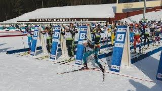 В Ханты-Мансийске стартовала последняя гонка финала Кубка IBU