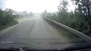 Летающие парники во время урагана в Нижнем Новгороде