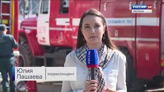 В Смоленске сгорел колбасный цех. Подробности