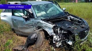 Обзор аварий  ДТП на Октябрьском проспекте, Киа и Гранта, 3 пострадавших  Место происшествия 30 07 2