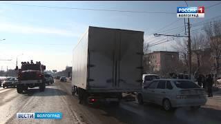 В Дзержинском районе перевернулась маршрутка