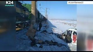 Случаи  ДТП на железнодорожных переездах увеличились в Алтайском крае