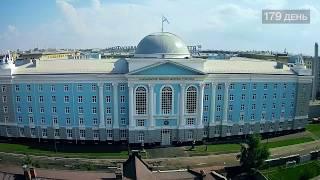181 день строительства Нахимовского училища в Санкт-Петербурге