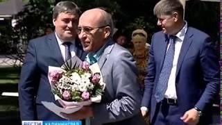 В Центральном парке чествовали ветеранов строительной отрасли Калининградской области