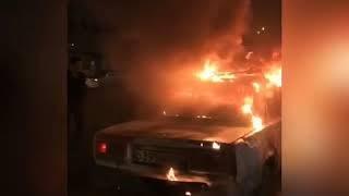 Тюменский блогер сжег машину ради рекламы