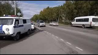 На Камчатке рейсовый автобус врезался в грузовик, пострадали пять человек