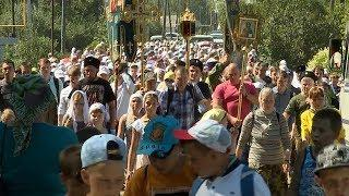 В Ичалковском районе совершили крестный ход на крутую гору, где жил Филарет Ичалковский