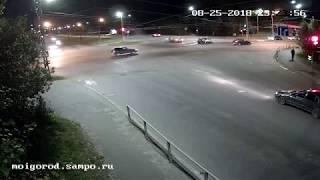 Две человека пострадали в ночном ДТП в Петрозаводске