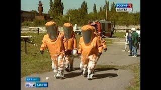 В столице Адыгеи спецслужбы провели учения на нефтебазе